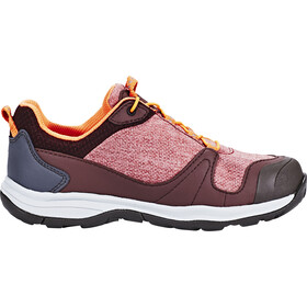 Jack Wolfskin Grivla Texapore Low Shoes Girls dark red